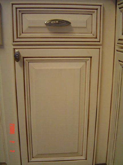 Glazing White Painted Cabinets Antique Glazed Pinterest Oak Cabinet And Painting