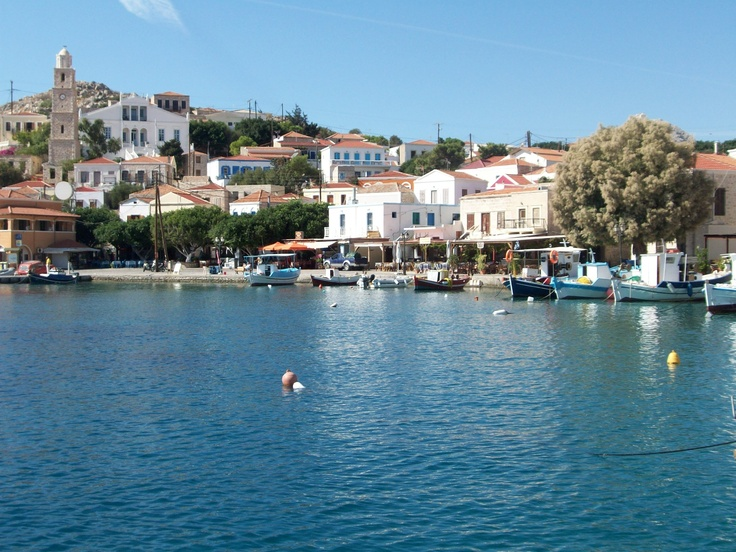 .....a baking hot Halki afternoon in June?