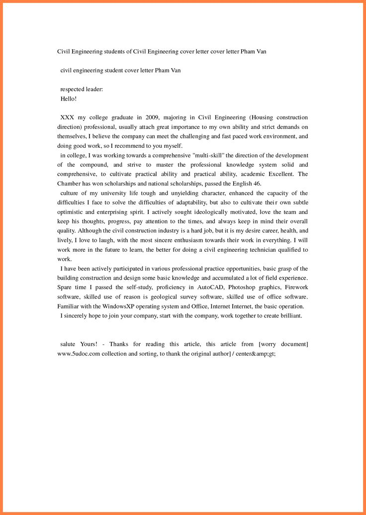 civil engineer example cover letter for engineering job letters - civil engineering cover letter