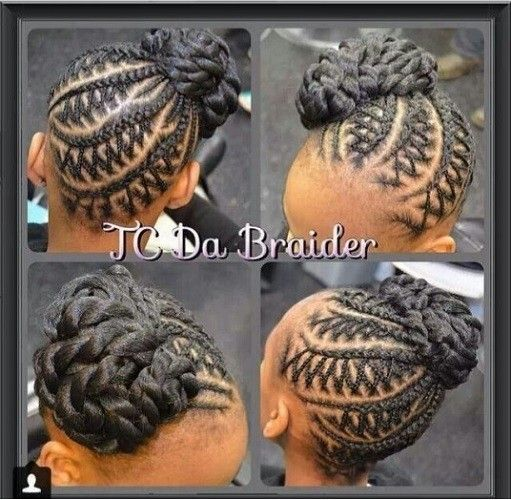 10 Images About African Princess Little Black Girl Natural Hair Styles On Pinterest Two Strand Twists Natural Hairstyles For Kids And