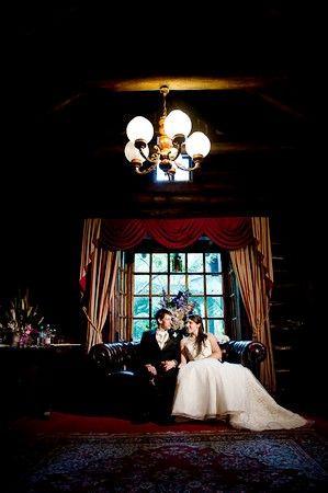 In our Bridal Suite #chateauwyuna #wedding #bride #groom #mrandmrs #weddingreception #married #congratulations #logcabin