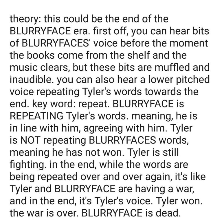 Talking about the new cover by twenty one pilots, cancer