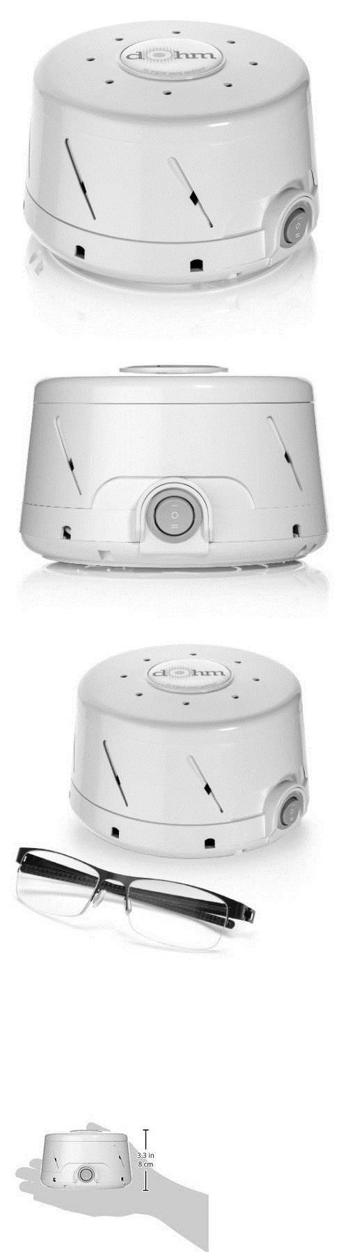 Sound Therapy: Marpac Dohm-Ds All-Natural White Noise Sound Machine, White -> BUY IT NOW ONLY: $41.98 on eBay!