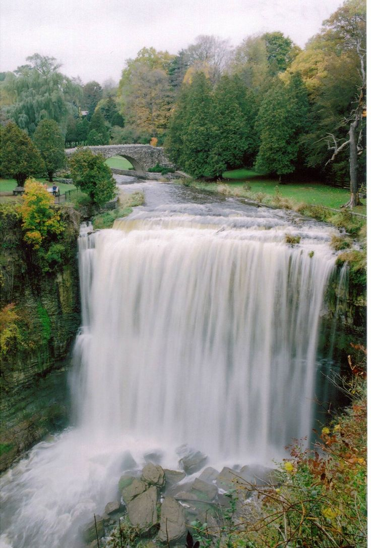 Ancaster/Hamilton Ontario: the waterfall capitol of Canada…