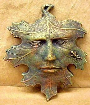 Green man and newtlet