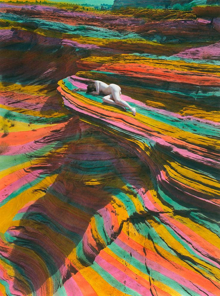 Hand-coloured photographs by Shae de Tar   iGNANT.de