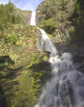 Tasmania For Everyone: waterfalls - South West and Southern Tasmania
