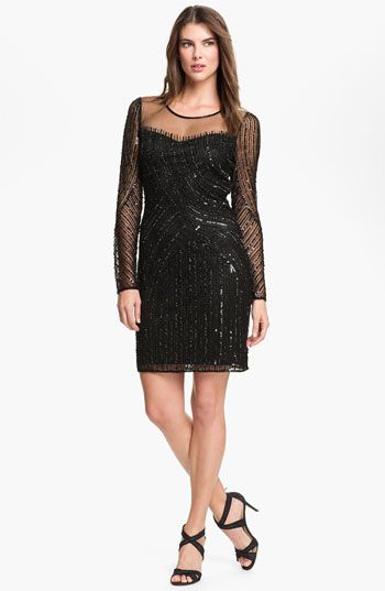 cocktail dresses at nordstrom | Pisarro Nights Beaded ...