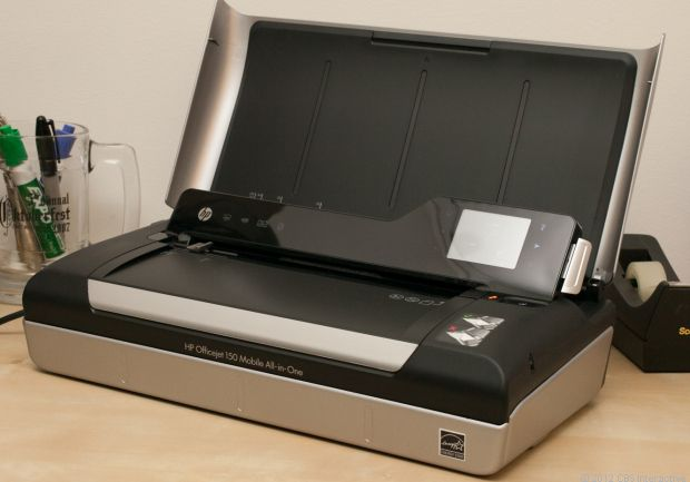 HP Officejet 150 Mobile All-in-One review via @CNET $300 compact wifi printer
