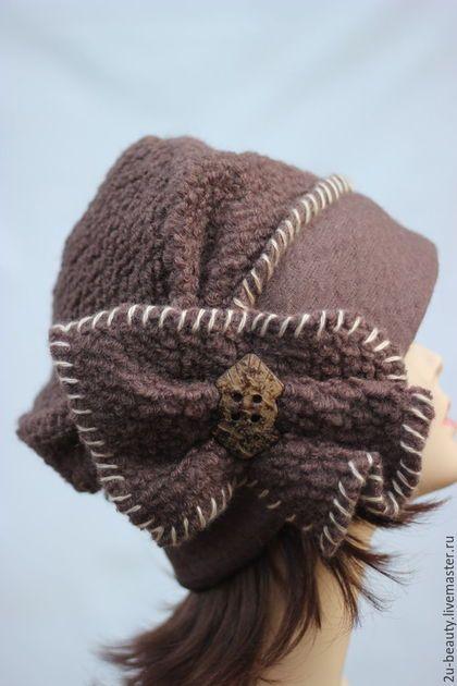 Шляпы ручной работы. Шляпка дизайнерская. Большие размеры.Шляпка для осени.Шляпка для зимы.. 2U-Beauty (волшебный мир шапок). Интернет-магазин Ярмарка Мастеров.