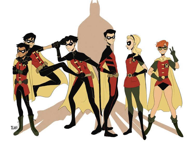 Robins Attack by TheGingerMenace123