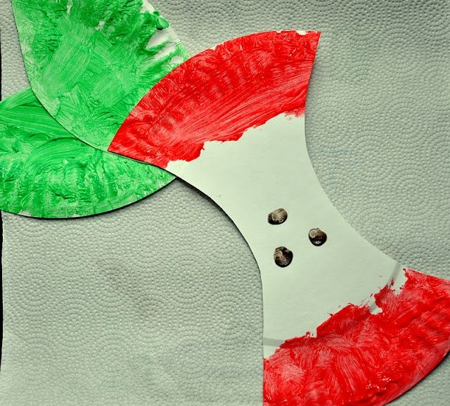 Easy Apple craft showing the parts of an apple, would be great for a labeling activity!
