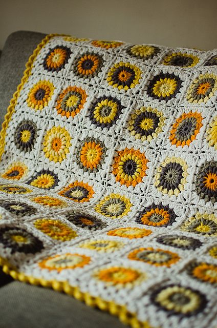 Crochet by j15ess, via Flickr  Love the Color Combo