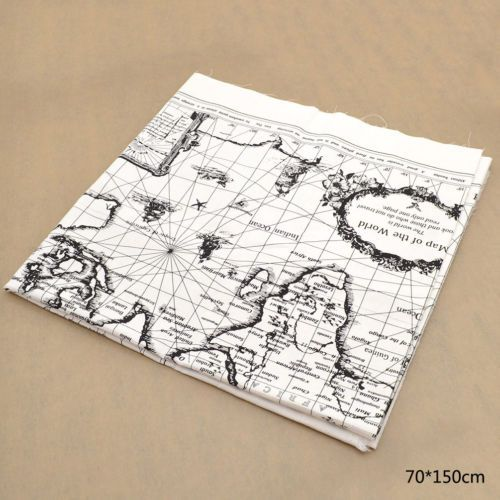 89 best world map 4 xtina images on pinterest bags beach bags and world map cotton linen fabric cloth diy sewing bag coat handmade craft decor gumiabroncs Gallery