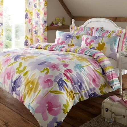 Meadow Breeze Collection Duvet Cover Set Dunelm