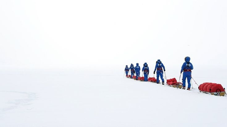 A group of British soldiers has broken an Antarctica record by becoming the first all-female team to cross the continent using only muscle power.  The six-strong team endured temperatures as low as minus 40C as they travelled more than 1,000 miles across the icy landmass.  After 62 days of travel, including on Christmas Day, the British Army's Ice Maiden Expedition crossed the finish line at Hercules Inlet on Saturday.  The group started at the edge of Ross Ice Shelf on November 20 an...
