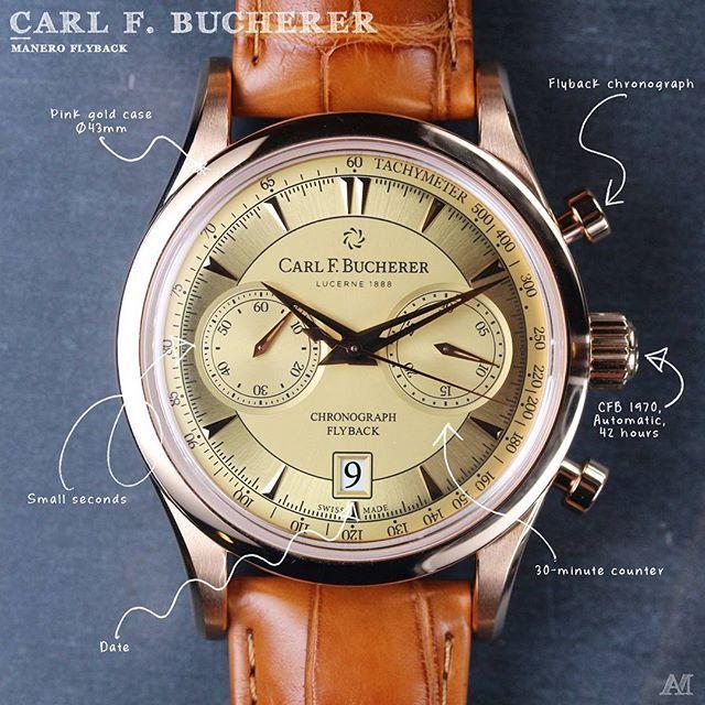 REPOST!!!  Note: I'm loving more and more this sector dial.  The @carlfbucherer Manero Flyback.  #carlfbucherer #maneroflyback #lucerne1888 #baselworld2017 #Amwatches #Horophile #Watchanish #Lovewatches #Dailywatch #Watches #Watch #Uhren #Orologi #Relojes #手錶 #腕時計 #Watchesofinstagram #Wristwatch #Montres #Luxury #watchgeek #watchnerd #Watchfam #PuristPro #Swisswatches #london #watchmaking #swisswatchgang #watchoftheday #timepieces  Photo Credit: Instagram ID @amwatches