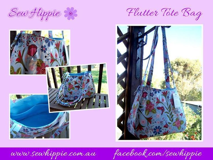 Handmade by Sew Hippie This designer Tote Bag