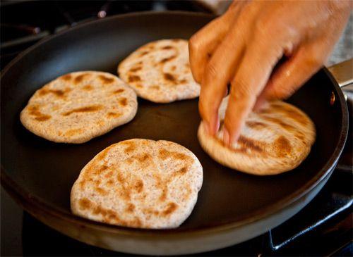 Cooking Tibetan Bread