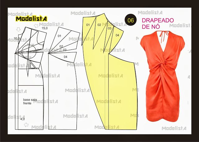 ModelistA: NÚMERO 6 - DRAPEADO DE NÓ