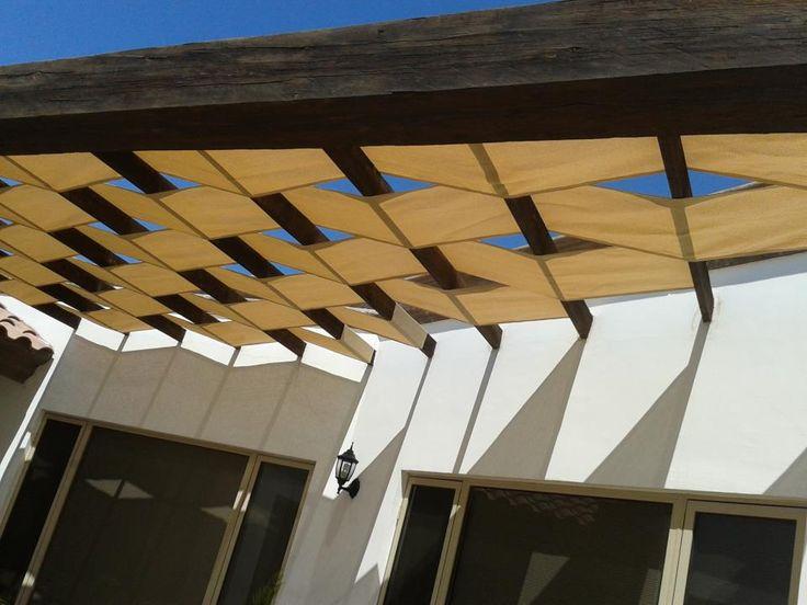 M s de 1000 ideas sobre sombra para patio en pinterest - Material para tejados ...