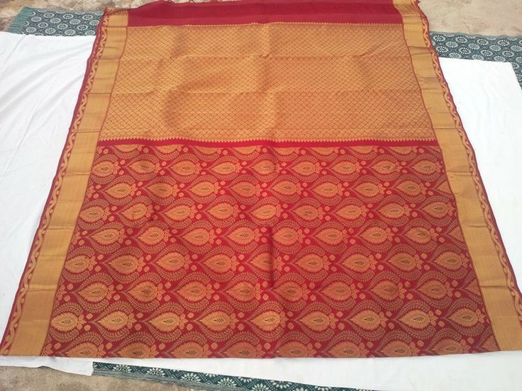 Kanchipuram handloom wedding saree