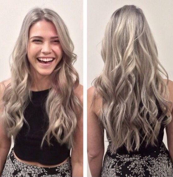 how to get silver purple hair
