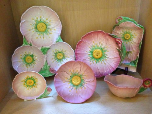 Carlton-Ware-Pink-Buttercup-20-Pieces