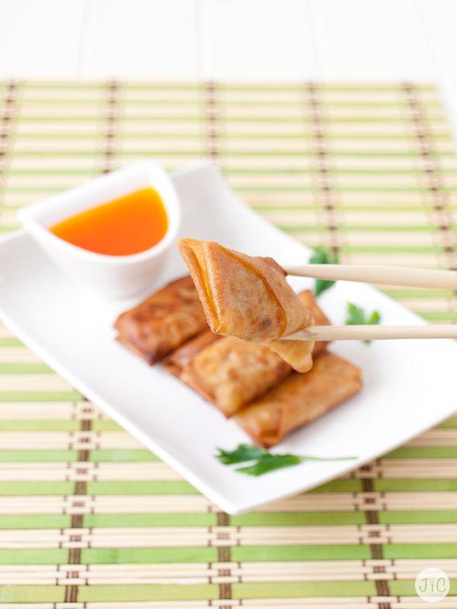 Toca aperitivo asiático: Rollitos de Primavera