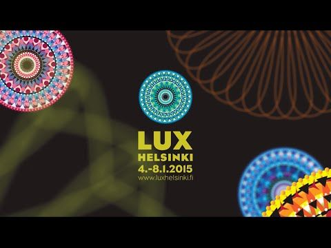 Did you get a chance to see the amazing light installations of LUX HELSINKI 2015? #luxhelsinki