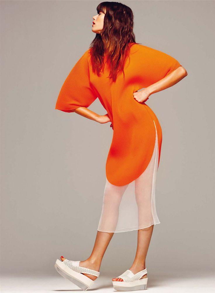 'El Fulgor De Una Stella' Sheila Marquez By Gonzalo Machado For Harper's Bazaar Spain 2