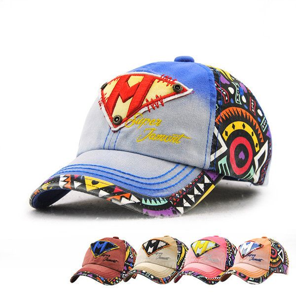 Kids Boys Girls Cotton Letter Embroidery Baseball Hat Cute Outdoor Sports Sunscreen Cap at Banggood