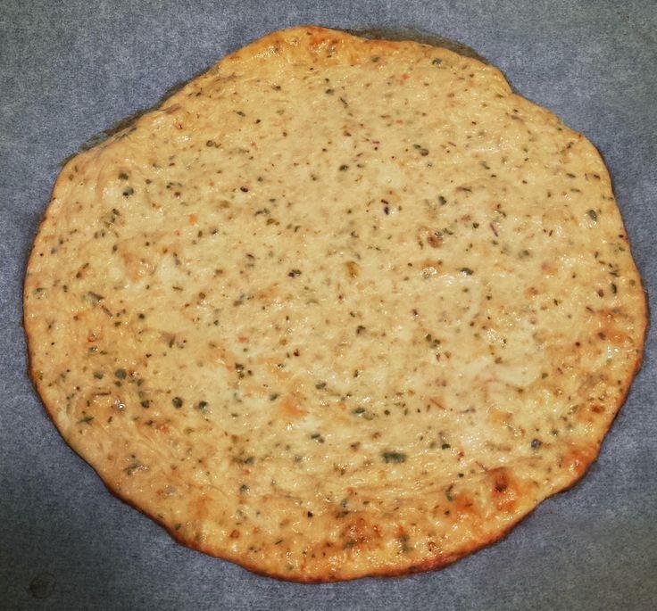 Sanos mordiscos : Base de pizza sin hidratos!!