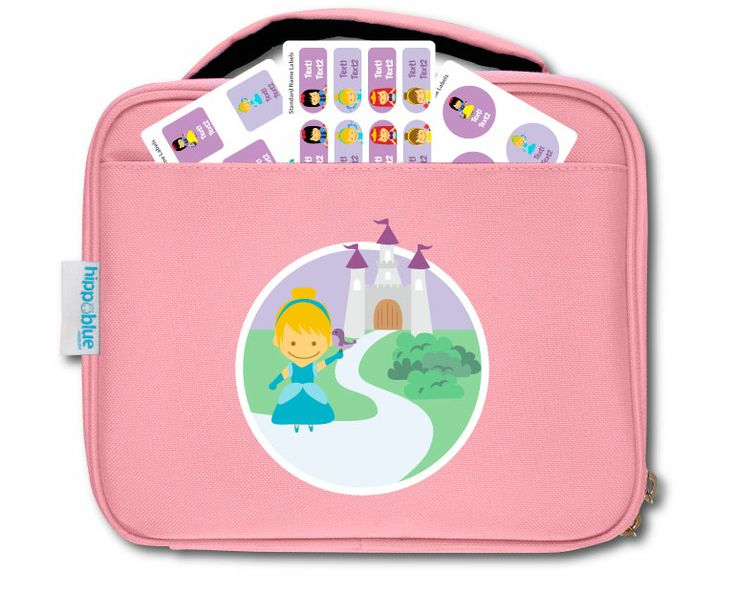 PINK LUNCH BAGS Our lunch bags are all about quality and style. Keep food & drink, cool & fresh in insulated water resistant lining.  FREE labels come in 3 different sizes to label food containers and bottles