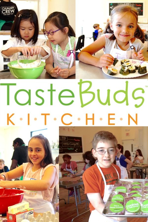 Summer Cooking Camps At Taste Buds Kitchen Camping With Kids