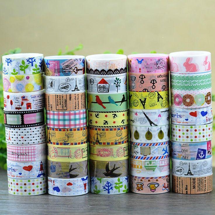 Декоративный скотч различного дизайна  Купить http://ali.pub/k3aoi  Цена от 12 рублей
