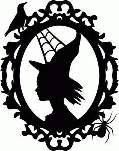 Resultado de imagem para halloween silhouette