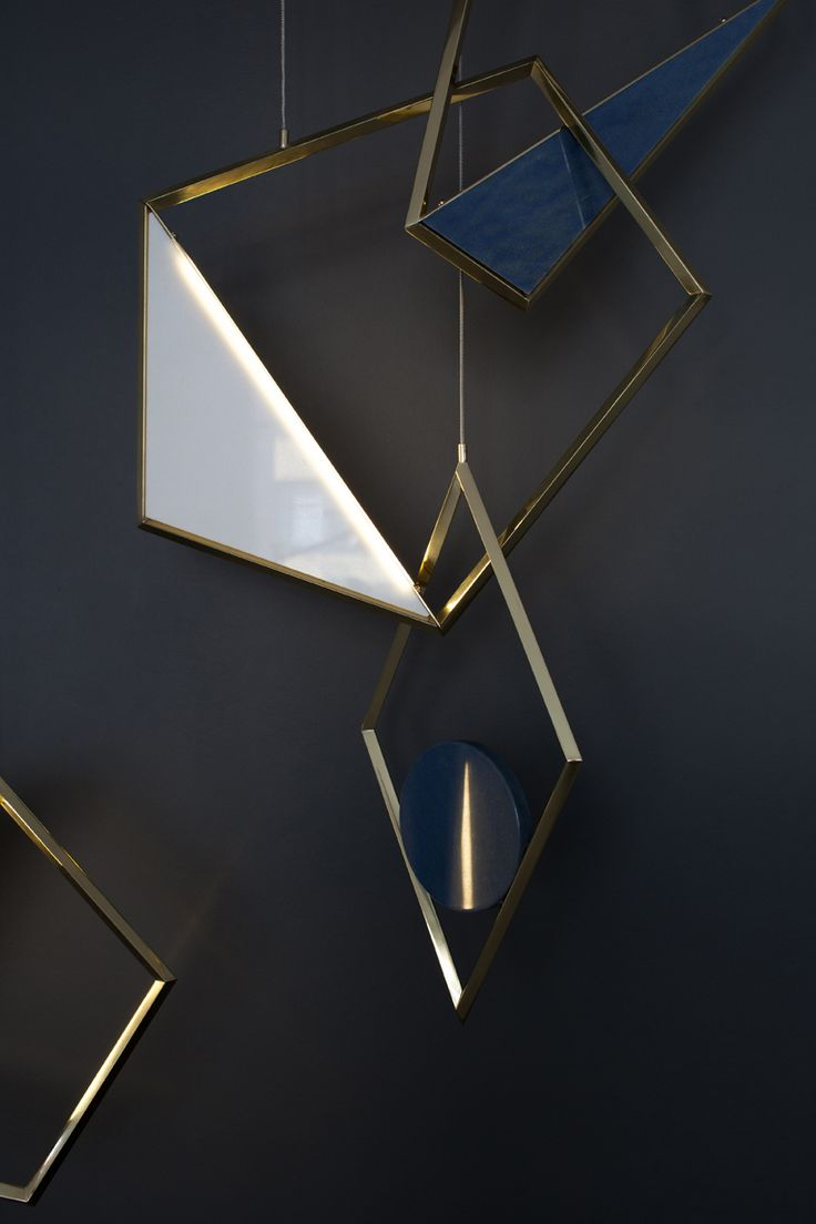 Tangle, a sculptural pendant light, looks like modern pendant jewelry. | MOCO LOCO