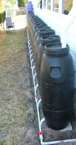 Now there's a rain Barrel system!!!