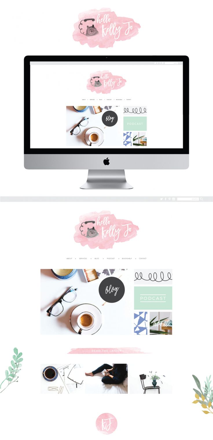 Clean and fun blog layout design. This  was designed for a personal lifestyle blog. It is a WordPress blog theme