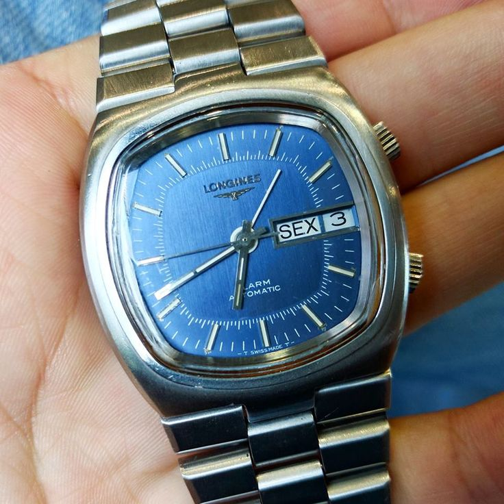 Longines AS 5008 automatic movement Alarm function watch