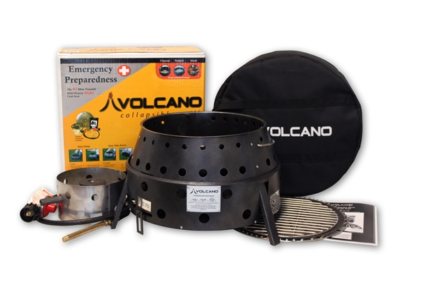Volcano Grill - another versatile camp stove.  Can support a dutch oven