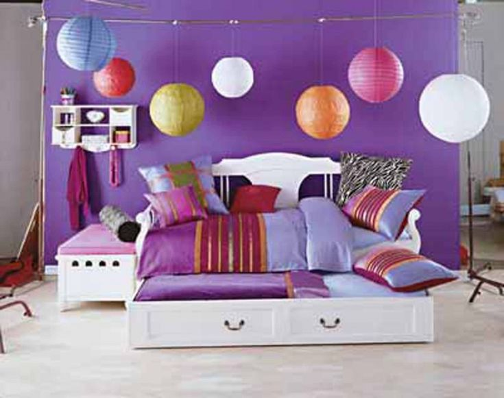 small room ideas for girls with cute color girls bedroom eas with loft bed small 1
