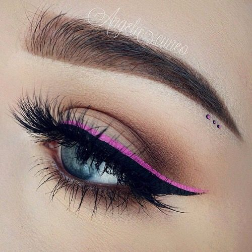 Black And Pink Kiss Makeup: 25+ Best Ideas About Pink Eyes On Pinterest