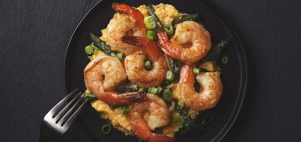 Shrimp and Asparagus | Shrimp And Asparagus, Shrimp and Asparagus