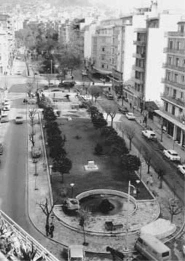 1960 ~ Fokionos Negri str. in Kypseli,  Athens