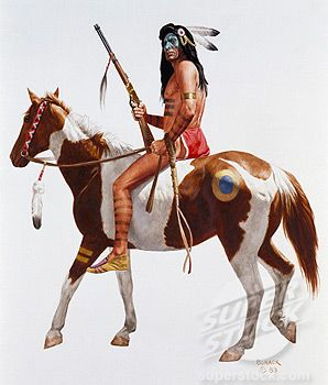 Sexy Native American War Paint | Native American Wearing ...