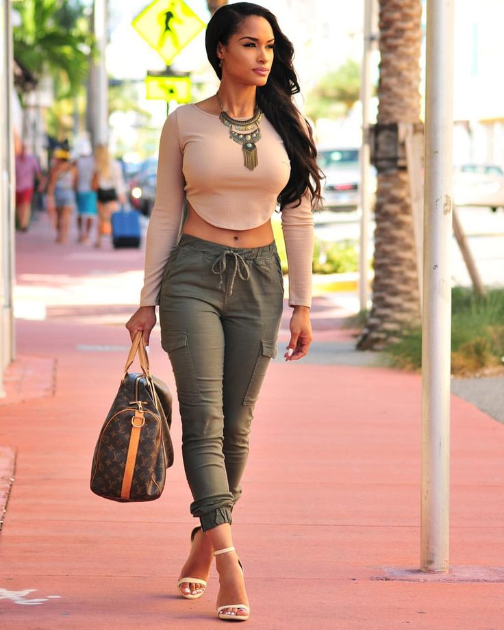 Restocked a fave - Get the look at HotMiamiStyles.com - search: Top: VT796 Pants: P991 Shoes: Celine