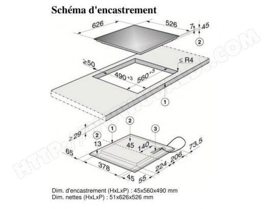 Plaque induction MIELE KM6306