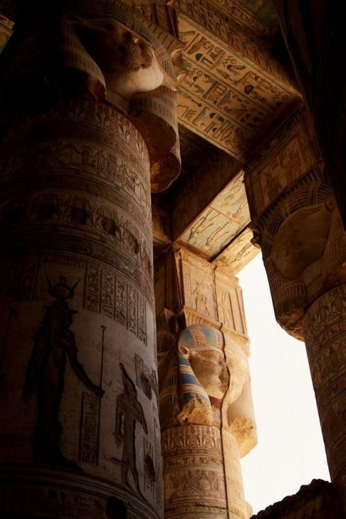 Dendera Temple complex The outer Hypostyle…